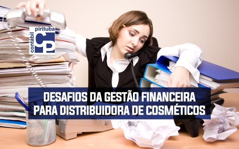 Desafios Da Gestão Financeira Para Distribuidora De Cosméticos