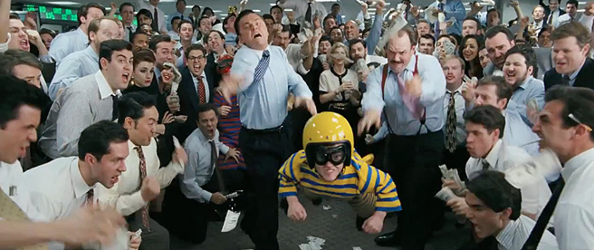 Wolf Wall Street Dwarf Tossing