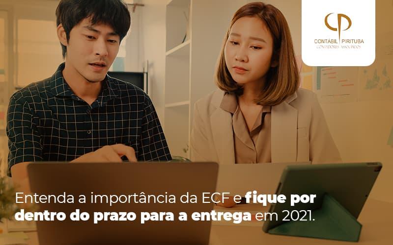 ECF: Qual O Prazo Para A Entrega Em 2021?